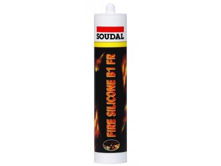 SOUDAL FIRE SILICONE B1 GRİ 300 ML