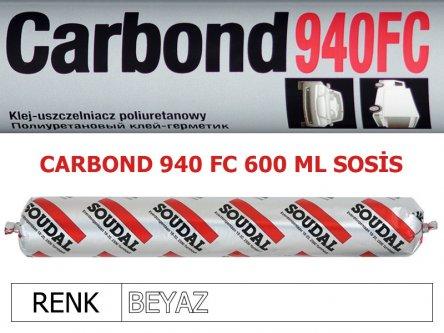 SOUDAL CARBOND 940FC BEYAZ 600 ML