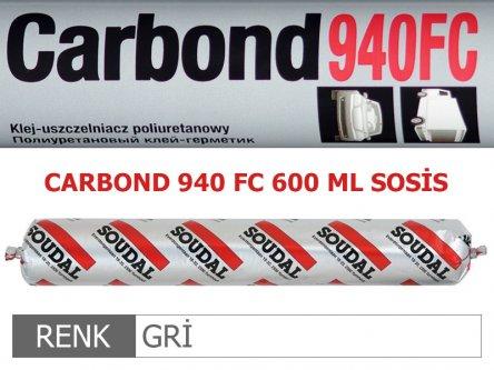 SOUDAL CARBOND 940FC GRİ 600 ML