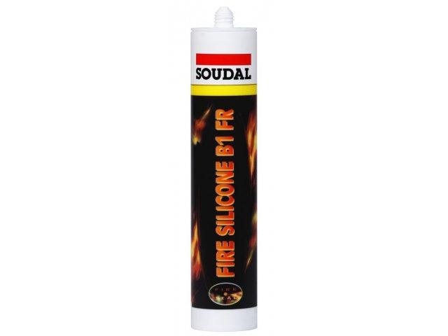 SOUDAL FIRE SILICONE B1 BEYAZ 310 ML