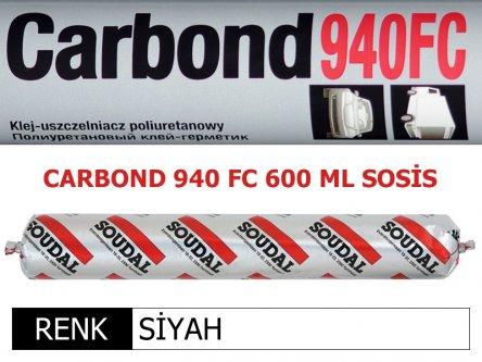 SOUDAL CARBOND 940FC SİYAH 600 ML
