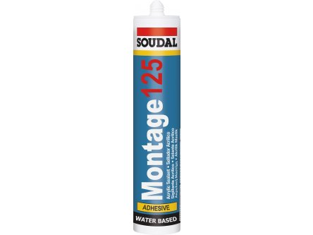 SOUDAL MONTAGE 125 ADHESIVE 310 ML