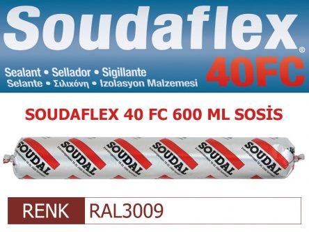 SOUDAL SOUDAFLEX 40FC RAL3009 600 ML