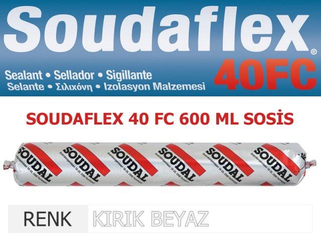 SOUDAL SOUDAFLEX 40FC KIRIK BEYAZ 600 ML