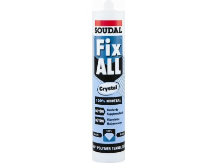 SOUDAL FIX ALL CRYSTAL 290 ML