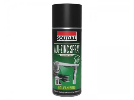 SOUDAL ALU-ZINC SPRAY 500 ML