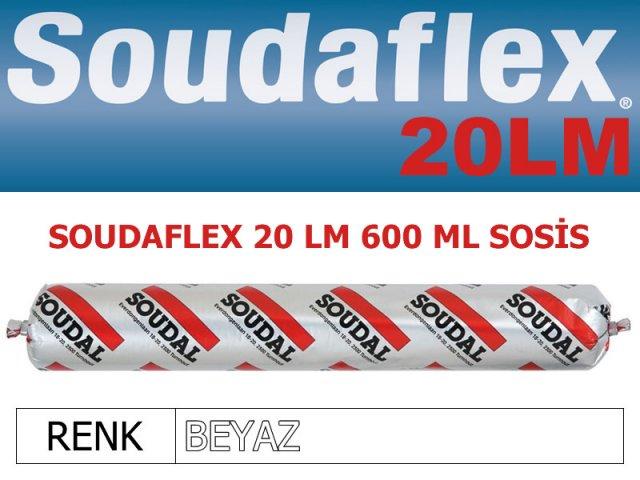 SOUDAL SOUDAFLEX 20LM BEYAZ 600 ML