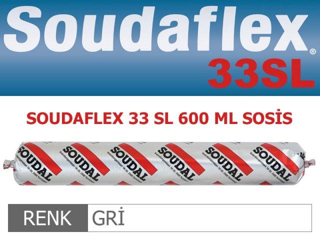 SOUDAL SOUDAFLEX 33SL GRİ 600 ML