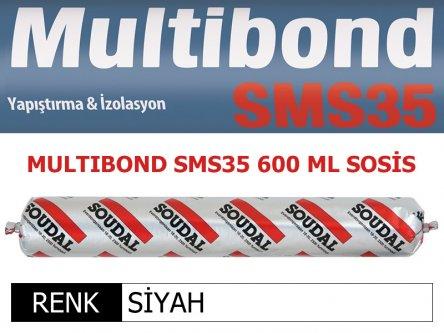 SOUDAL MULTIBOND SMS-35 SİYAH 600 ML