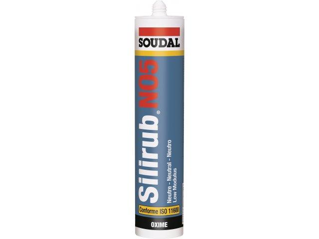SOUDAL SILIRUB NO5-HE ŞEFFAF 300 ML