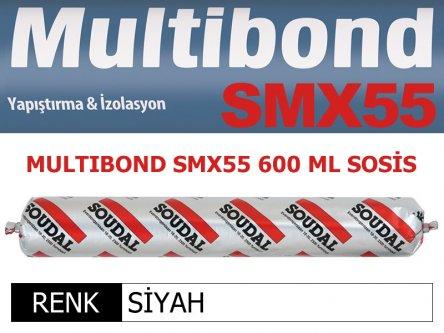 SOUDAL MULTIBOND SMX-55 SİYAH 600 ML
