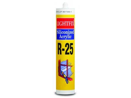 SOUDAL LIGHTFIX R-25 SİLİKONİZE MASTİK BEYAZ 500 GR